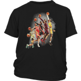 NBA Los Angeles Lakers - Lebron James The Evolution Of A King Shirt