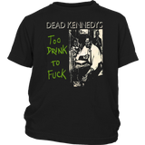 DEAD KENNEDYS SHIRT TOO DRUNK TO FUCK - Jonah Hill