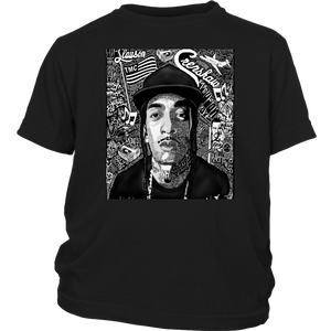 NipSey Hussle Shirt - LeBron James wearing a Nipsey shirt
