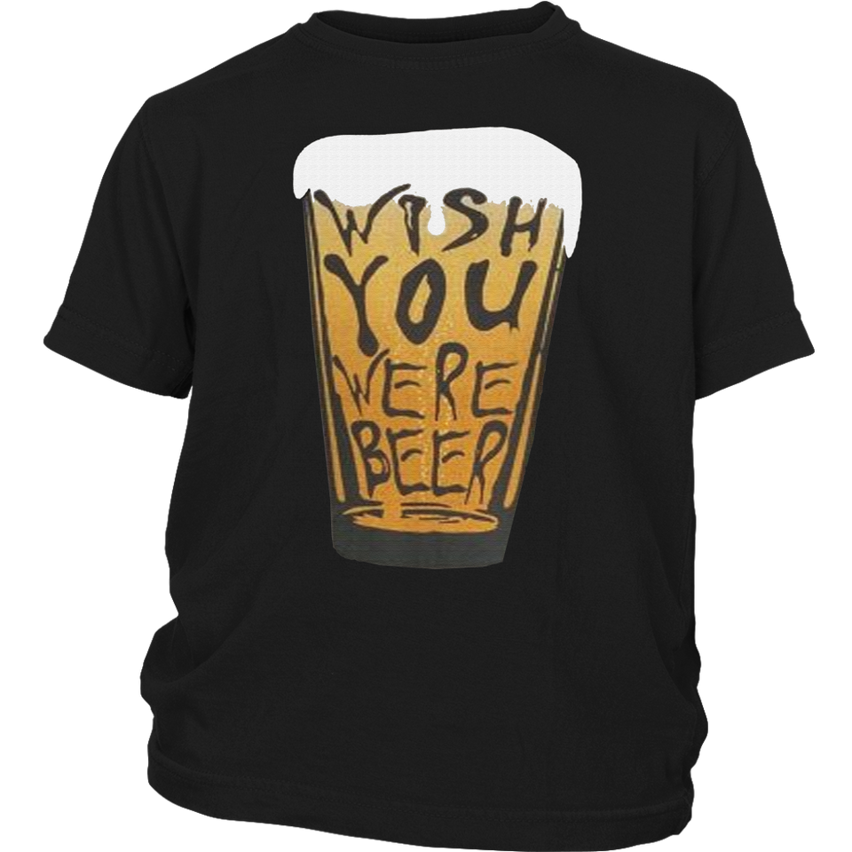 WISH YOU WERE BEER SHIRT