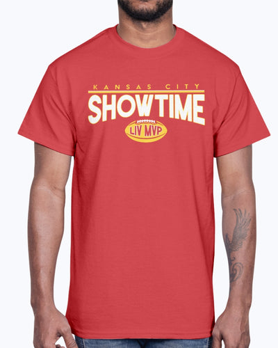 SHOWTIME MVP SHIRT Kansas City Chiefs Super Bowl LIV Champions