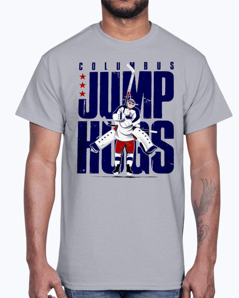 COLUMBUS JUMP HUGS SHIRT