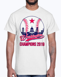 Washington Nationals Vintage Champions 2019 T-Shirt
