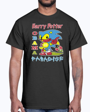 Harry Potter Obama Sonic Paradise T-Shirt