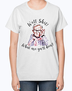 Leslie Jordan Well Shit What Are Ya'll Doin Shirt