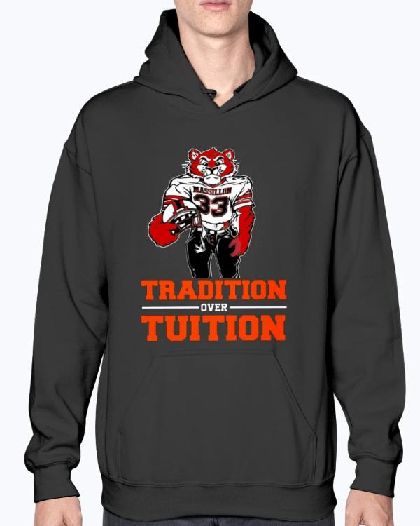 Tradition Over Tuition Shirt Massillon Tigers