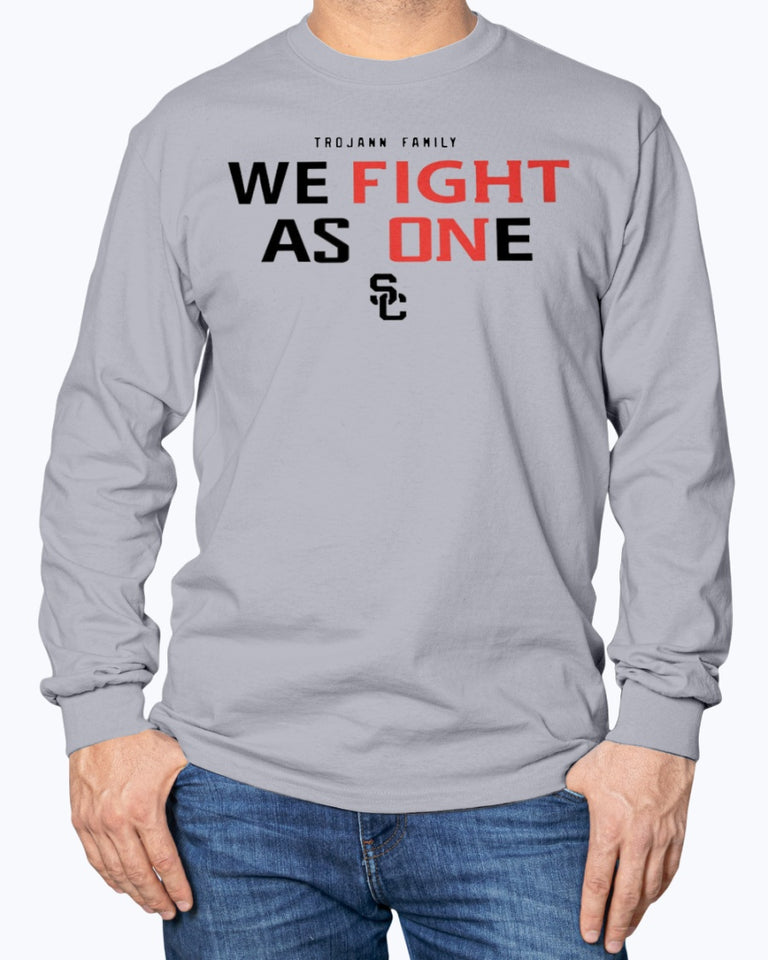 WE FIGHT AS ONE SHIRT