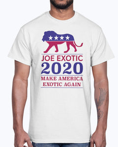MAKE AMERICA EXOTIC AGAIN JOE EXOTIC 2020 T-SHIRT