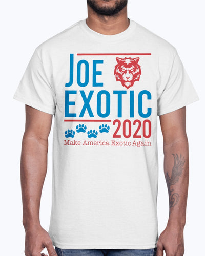 Joe Exotic 2020 make America Exotic Again T-shirt