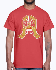 GEORGE KITTLE LUCHA MASK SHIRT