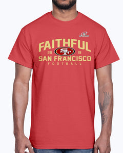 FAITHFUL 2019 SAN FRANCISCO FOOTBALL SHIRT