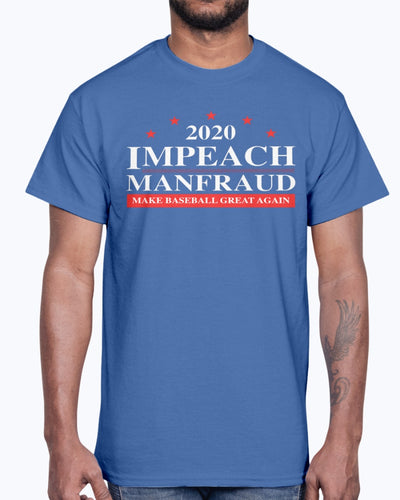 Impeach Manfraud Make Baseball Great Again Shirt