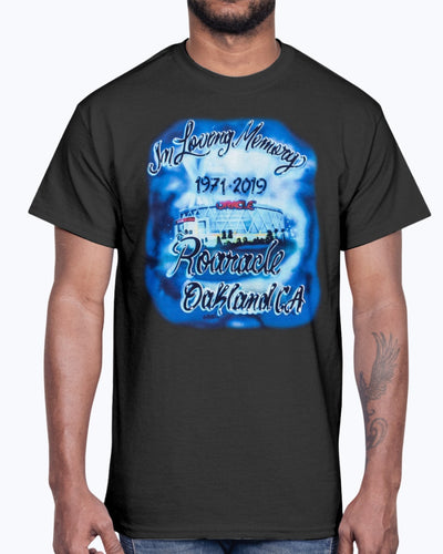 IN LOVING MEMORY ROARACLE OAKLAND CA 1971 - 2019 SHIRT IN LOVING MEMORY OF ROARACLE ARENA -  Golden State Warriors - Stephen Curry