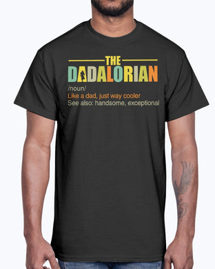 The Dadalorian Definition Shirt Happy Father's Day
