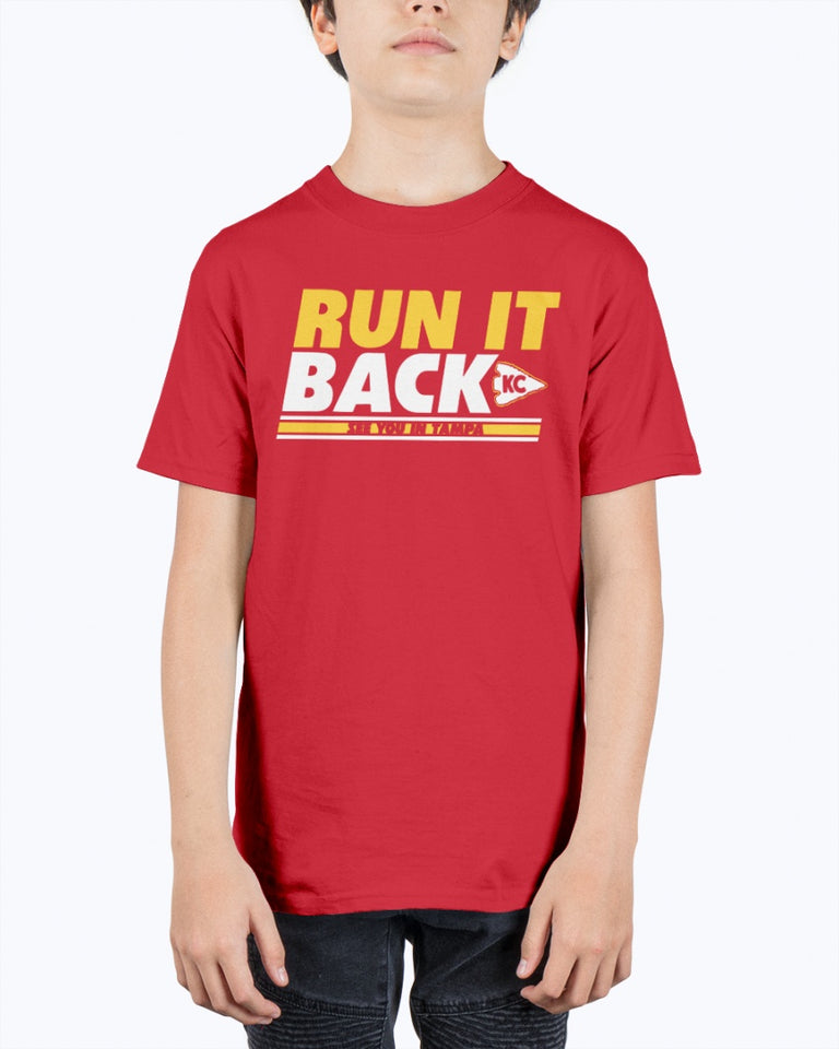RUN IT BACK - SEE YOU IN TAMPA SHIRT