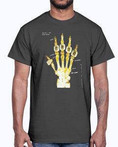 KOBE BRYANT Hand X-Ray Ring Shirt