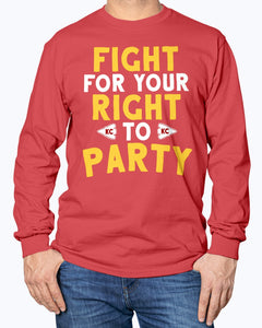 FIGHT FOR YOUR RIGHT TO PARTY SHIRT