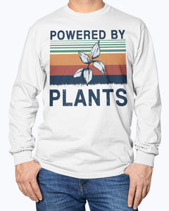 Powered By Plants Vintage Shirt