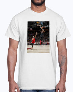 LeBron Hitting Game-Winner Over OG Anunoby Shirt