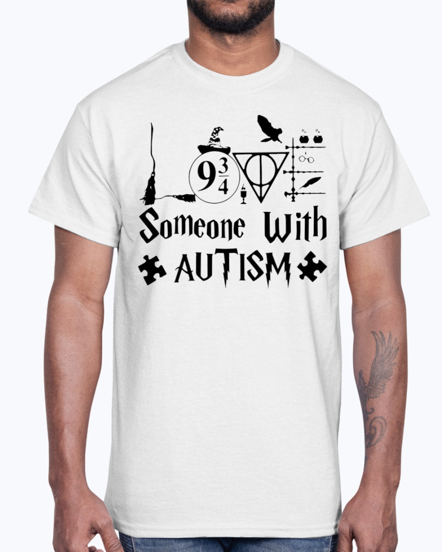 SOMEONE WITH AUTISM SHIRT HARRY POTTER