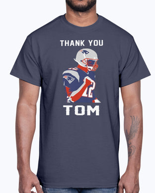 THANK YOU TOM BRADY SHIRT