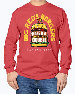 ANDY REID - BIG RED'S BURGERS SHIRT KANSAS CITY CHIEFS