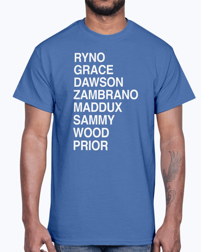 Ryno Grace Dawson Zambrano Maddux Sammy Wood Prior Shirt