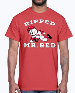 RIPPED MR RED SHIRT