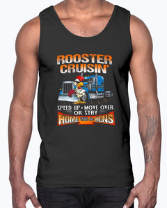ROOSTER CRUISIN' HOME WITH THE HENS SHIRT