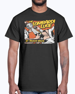 THE LOMBARDI LUGE BY TRAVIS KELCE SHIRT KANSAS CITY CHIEFS