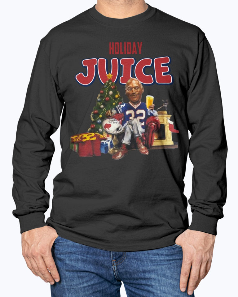 O.J. Simpson Holiday Juice Shirt