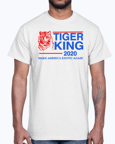Tiger King 2020 Make America Exotic Again For T-Shirt
