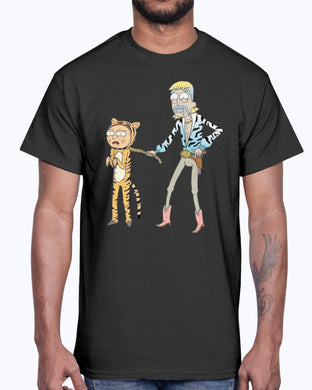 RICK AND MORTY TIGER KING SHIRT