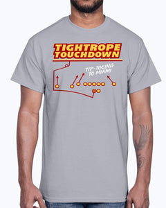 TIGHTROPE TOUCHDOWN SHIRT Tip-Toing To Miami