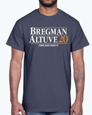 Bregman Altuve 2020 Come And Take It Shirt