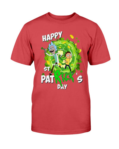 HAPPY ST PATRICK'S DAY SHIRT Funny Rick and Morty