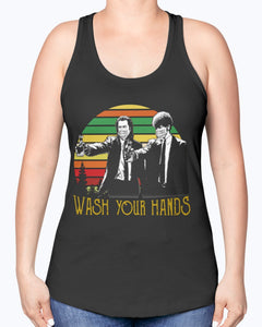 VINTAGE PULP FICTION WASH YOUR HANDS SHIRT