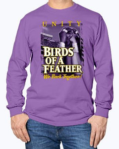BIRDS OF FEATHER - WE FLOCK TOGETHER SHIRT