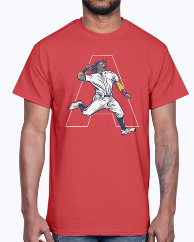 JUMP ACUÑA - AIR ACUÑA SHIRT  Atlanta Braves