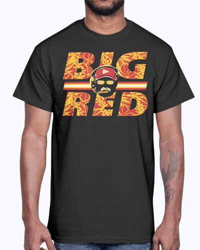 BIG RED SHIRT Andy Reid - Kansas City Chiefs 2019 AFC Champions T-Shirt