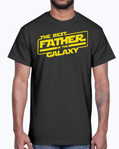 THE BEST FATHER IN THE GALAXY SHIRT