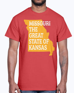 Missouri The Great State Of Kansas Shirt