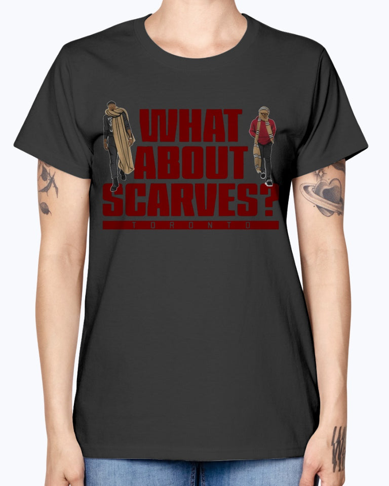 WHAT ABOUT SCARVES SHIRT