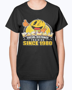 PACMAN SOCIAL DISTANCE TRAINING SINCE 1980 SHIRT