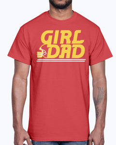 KC GIRL DAD SHIRT  KANSAS CITY CHIEFS