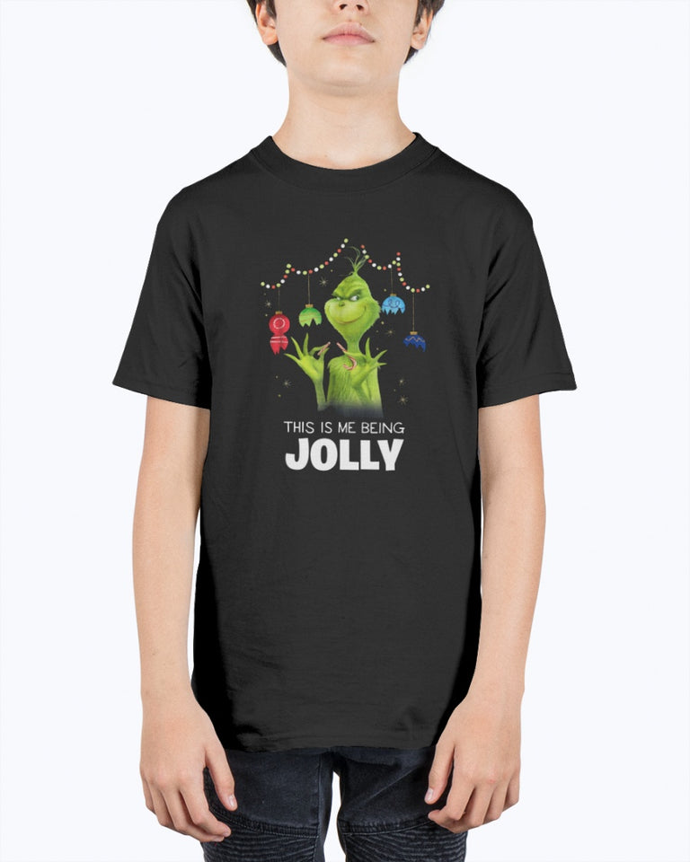Dr. Seuss The Grinch Being Jolly T-shirt