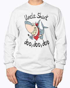 UNCLE SHARK DOO DOO DOO SHIRT
