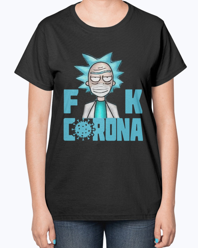 RICK AND MORTY FUCK CORONA SHIRT