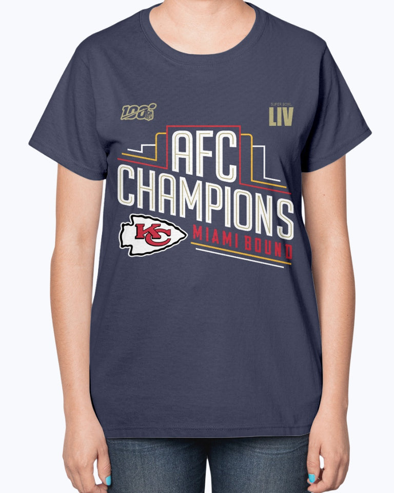 Kansas City Chiefs 2019 AFC Champions Shirt