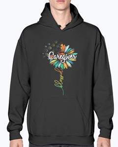 SUNFLOWER BLESSED CAREGIVER SHIRT